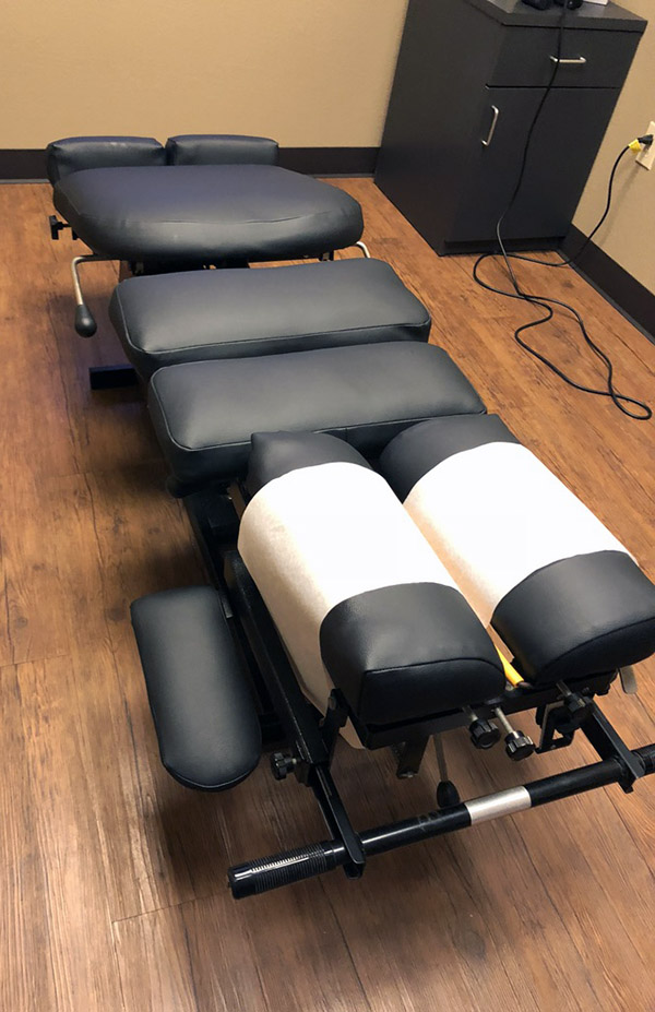 chiropractic tables reupholster
